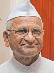 Anna Hazare — Gandhi is alive in India