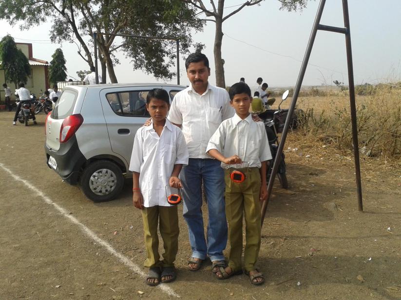 L to R: Rohit Dharma Chavan, Jivan Nivrutti Rathod A/P-Dheku Tal: Nandgaon Dist-Nashik.