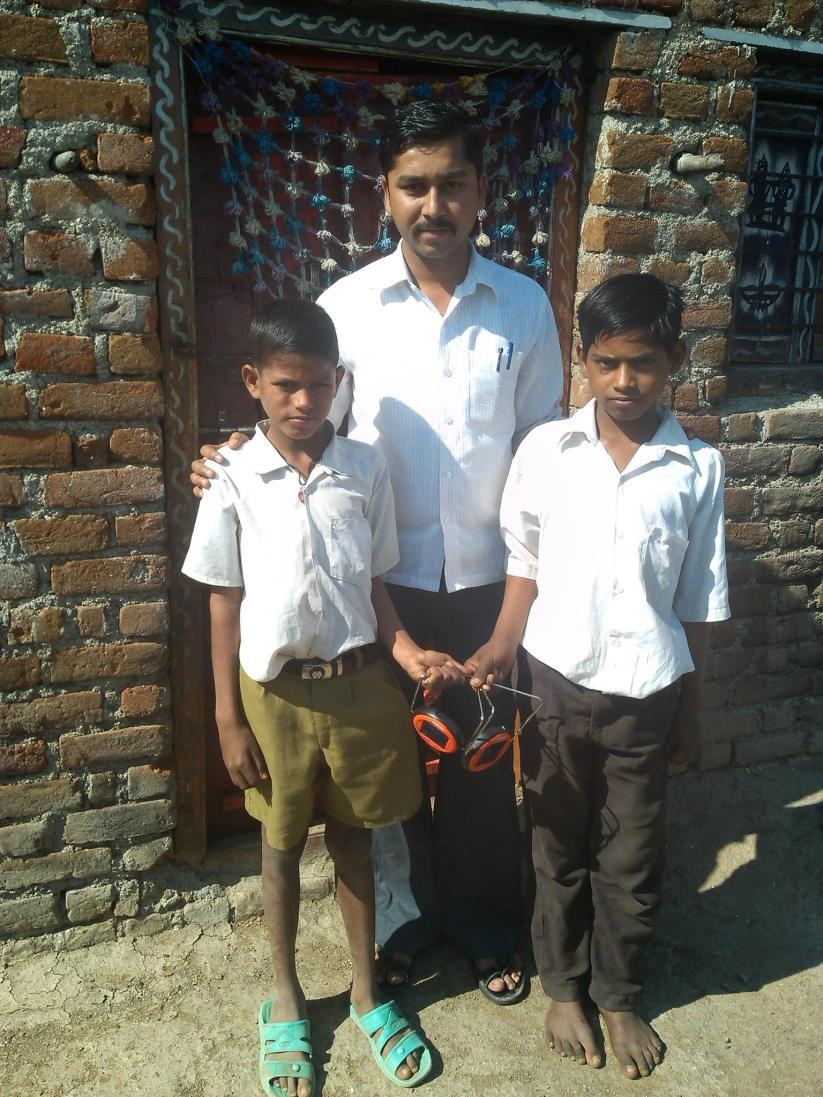 L to R : Jalindar bhausaheb pawar, Vikas Ganesh Chavan. A/P Jategaon